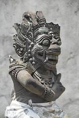 Statue in Seminyak (Manoo Mistry) Tags: bali indonesia seminyak nikond5500body nikon tamron18270mmzoom statue sculptor