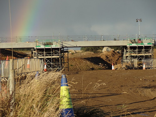 Overpass near Orrock House -AWPR