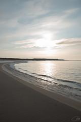 November sun (tiina.harjunpaa) Tags: beach shore sand water sea ocean blue sky clouds sun outdoor landscape nature mothernature minimalism photo photography canon finland kokkola