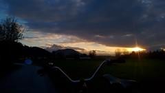 nach der Arbeit (twinni) Tags: mw1504 08112016 bike biketour salzburg austria österreich winter beachcruiser bm bumm busch müller cyclestar