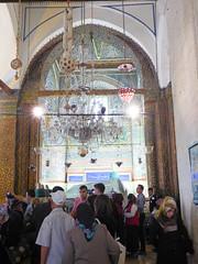 Konya - Mevlana Turbesi, shrine interior, pilgrims (3) (damiandude) Tags: rumi dervish sufi