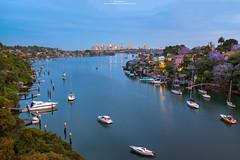 Sydney Blue Hour (Brook Attakorn BK) Tags: sydney australia twilight nsw destination exposure landscape bridge opera travel urban