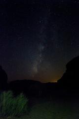 Milky Way at Wadi Rum (mikey baker) Tags: wadirum milkyway jordan stars camp