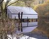 Boathouse #1 (Kevin J Allan) Tags: scotland trossachs fujivelvia50 transparency slide lochard riverforth boathouse reflection