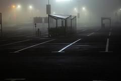 parking area (Studio fotoplastikon) Tags: parking color leiter night