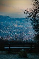 Monte Scherbelino (thomasmayer382) Tags: sony sonyalpha 135mm f2 8 minolta altglas bank aussicht landscape landschaft stuttgart badenwrttemberg birkenkopf monte scherbelino sonnenaufgang sunrise goldenestunde goldenhour