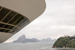 Niteri Contemporary Art Museum (takashi_matsumura) Tags: sigma 1750mm f28 ex dc os hsm nikon d5300 niteri contemporary art museum riodejaneiro brasil brazil architecture ngc