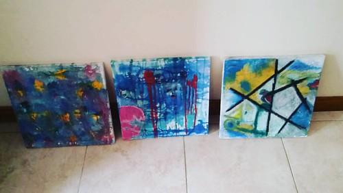 #pintura #domingo #paintings #pintando #paint #arteabstracto #artist #workinprogress #art #abstractart