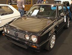 South African Golf (Schwanzus_Longus) Tags: essen motorshow motor show german germany south africa african modern car vehicle black small compact hatchback volkswagen vw citi golf