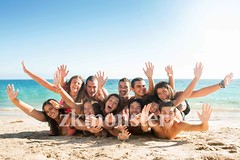 Friends in Summer time (zkmonster) Tags: group beach summer friends friendship teens cheerful faces sea male female fun funny girls sand grinning hair happiness laughing lay laying life love outdoors people playful playing portrait pretty smiling youth teenagers expressions boys portugal