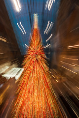 On Comet! (Jay:Dee) Tags: topw toronto photo walks abstract zoom blur christmas tree decoration festive