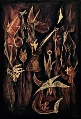 Oil 54 (1950 ) - Marcelino Vespeira (1925 - 2002) (pedrosimoes7) Tags: marcelino vespeira artgalleryandmuseums ✩ecoledesbeauxarts✩ caloustegulbenkianmuseum moderncollection lisbon portugal museum musée museu creativecommons cc