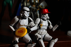 Shelf Fun (Brundlefly85) Tags: fun actionfigure star monkey funny lol troopers planet stormtrooper wars apes 2015