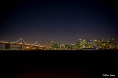Nightscape Edit Test 4 (2 of 1) (ken.jones00) Tags: sf sanfrancisco bridge bay nightscape thecity baybridge fe55mmf18za