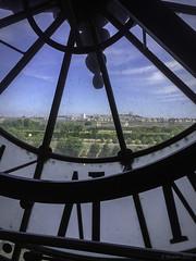 Paris Through a Clock Window (Greatest Paka Photography) Tags: paris france clock window museum view time railwaystation museedorsay orsaymuseum impressionistart postimpressionistart