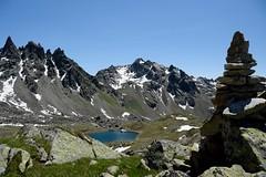 (Giramund) Tags: lake snow mountains alps rocks swiss
