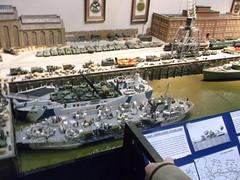 D-Day Layout (2) (girdergibbon) Tags: londonfestivalofrailwaymodelling railway modelling modeller alexandrapalace dday