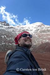 The joy of 5,000m III (10b travelling) Tags: mountain selfportrait latinamerica southamerica volcano ecuador montana peak andes americas selfie chimborazo 2015 10b tenbrink carstentenbrink iptcbasic 10btravelling