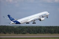 "Airbus A350 (Pavel ""Myth"" YB) Tags: aviation airshow airbus airbusa350 a350 maks2015"