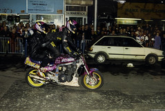 Gary Rothwell  Suzuki GSXR1100 (Betapix) Tags: liverpool gary suzuki tt rider isleofman stunt stunts gsxr rothwell iom scouser wheelies stuntrider stoppies garyrothwell