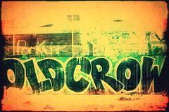 Old Crow (Thomas Hawk) Tags: usa graffiti oakland unitedstates unitedstatesofamerica eastbay califorina oldcrow