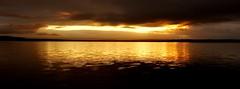 Laugarvatn (oeiriks) Tags: lake sunrise landscape iceland oeiriks sonyalpha350 blskgabygg