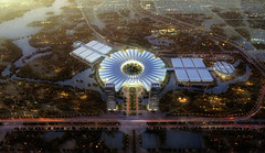 Проект Национального торгово-выставочного центра во Вьетнаме от Gmp Architekten