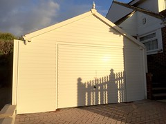 Infill of car port in Seddlecscombe