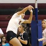 BC Varsity Volleyball 10-20-15