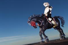 No Speederbikes here (katsuboy) Tags: starwars returnofthejedi hokutonoken scouttrooper rotj koukou sideshowtoys fistofthenorthstar