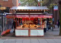German stall at Manchester Christmas Market 2015 (Tony Worrall Foto) Tags: show county christmas xmas city uk england people food festival festive manchester fun lights stream tour open place northwest market dusk centre country seasonal north visit location event area buy annual lit sell northern update stalls attraction manc gmr manchesterchristmasmarkets welovethenorth 2015tonyworrall