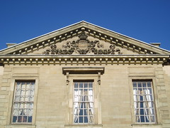 Pediment, Coombe Abbey (Aidan McRae Thomson) Tags: house architecture mansion warwickshire coombeabbey