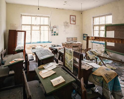 Chernobyl - Krasne School