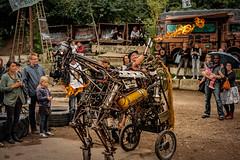 Robodonien 2015 (T. Roth) Tags: horse art cologne robots sculptures robodonien