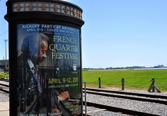 Allen Toussaint (greenelent) Tags: streets river neworleans frenchquarter photoaday mississippiriver 365 nola frenchquarterfest streetcartracks allentoussaint
