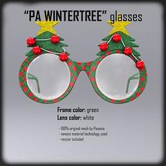 Second Life Glasses (Michal Weymann - PANAVIA) Tags: life christmas winter baby sun tree sunglasses fashion kids glasses kid babies mesh sl second panavia