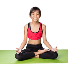 Meditation (Patrick Foto ;)) Tags: portrait people white cute girl beautiful beauty childhood yoga female pose studio children relax asian thailand person one kid healthy pretty meditate sitting child exercise little lotus body background joy young lifestyle happiness doing health human gymnastics thai meditating leisure meditation concept relaxation fitness isolated position caucasian