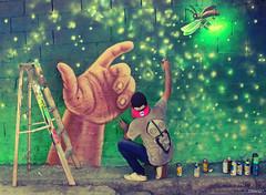 Magia, Cocuyos (Lucirnagas) para esta calle olvidada (Jotashock) Tags: christmas streetart verde green valencia navidad venezuela working spray greenlight aerosol merrychristmas firefly feliznavidad sds pintando luzverde felizaonuevo lucirnaga cucui cucuy lucirnagas cocuyo felizvanidad valenciacarabobo sdscrew jotashock sindicatodelspray