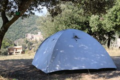 emplacement tente et chateaux