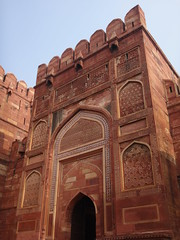 fort rouge d'Agra (jffourmond) Tags: india agra inde fortrouge