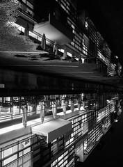 Verdrehte Welt (digital_underground) Tags: street bw building germany deutschland blackwhite image sony hamburg alpha schwarzweiss hafen reflexions spiegelung gebude 6000 blackdiamond astounding wasserlache achritektur a6000 astoundingimage sel1018