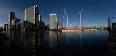 Autumn on the Wharf 13th Nov (18 of 37) (johnlinford) Tags: autumn canarywharf canon canonefs1022 canoneos7d docklands e14 landscape london reflection skyscraper towerhamlets urban urbanautumn water