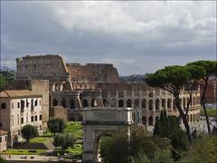 COLISEO (JLL85) Tags: roma coliseo colosseo romano panoramica vista view viaje travel europa italia italy monumento arte historia
