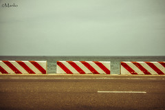 Mui Ne (Manlio'77) Tags: muine sea seascape vintage horizon landscape colors red stripes redstripes blue manlio manliophotography design geometricdesign modernart