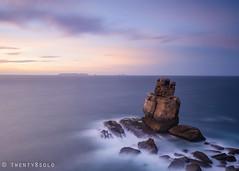 Nau dos Corvos (twenty8solo) Tags: light peniche darrenjamesphotography horizon coast seascape nikon rock longexposure portugal sunset