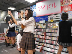 """さやひ~ (田中沙弥) / HOT HEAT HEAT GIRLS 1st single """"JUMP"""" リリースイベントミニライブ (制服回)"""