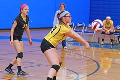 IMG_10402 (SJH Foto) Tags: girls volleyball high school lampeterstrasburg lampeter strasburg solanco team tween teen east teenager varsity dig bump
