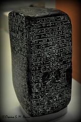Basalt Monument of Esarhaddon (Sumer and Akkad!) Tags: britishmuseum london uk babylon iraq mesopotamia esarhaddon terracotta record cuneiforminscription basalt assyria assyrian nineveh