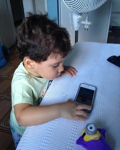 Tocando terror ❤️😂 #nephew #murilinho #familia #love