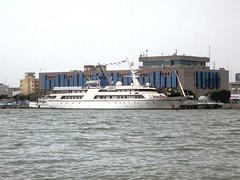 Basra Breeze (D-Stanley) Tags: saddamhussein yacht breeze international hotel sheraton shattalarab river basra iraq